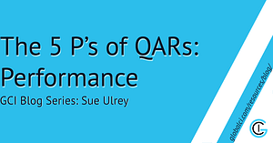 The 5 P's of QARs: Performance