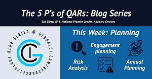 The 5 P's of QAR Blog Series