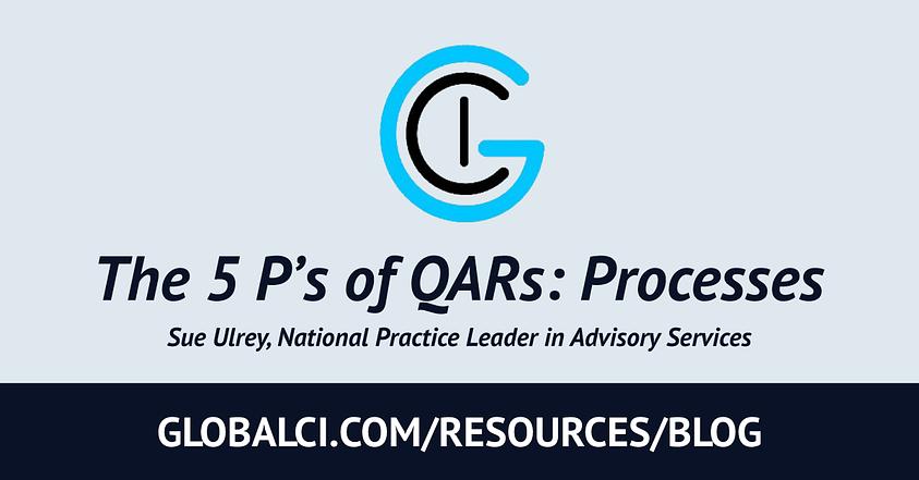 The 5 P's of QARs: Processes