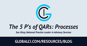 The 5 P's of QARs: Processes