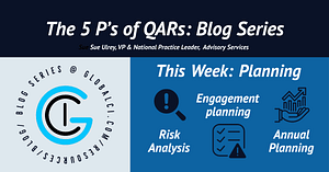 The 5 P's of QAR Blog Series